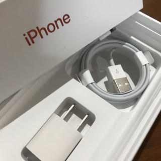 Apple - iPhone付属品 純正  充電ケーブル  アダプタセット