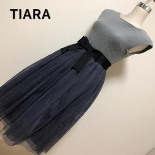 ティアラ(tiara)の本体価格28.000+税✨TIARAドレス ワンピース✨(ひざ丈ワンピース)