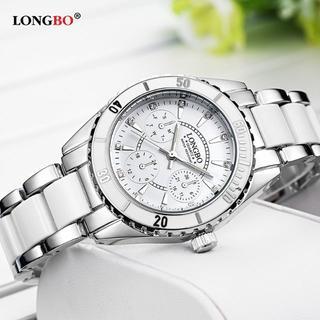 洗練された デザイン!女性用腕時計(新品・ピンクか白を選択)#Tue93 (腕時計)