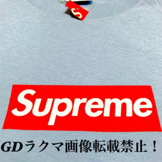 Supreme - 新品 supreme Box logo 20th 正規 ライト ブルー 国内正規