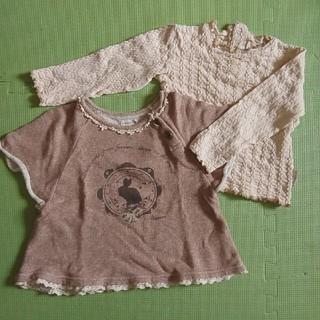 ビケット(Biquette)のビケット秋冬トップスセット長袖95(Tシャツ/カットソー)