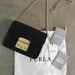 フルラ(Furla)の◆新品未使用◆Furla メトロポリス ショルダーバッグ◆ブラック(ショルダーバッグ)