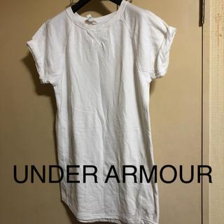 アンダーアーマー(UNDER ARMOUR)のUNDER ARMOUR◆タグ付き未使用◆スウェットチュニック(トレーナー/スウェット)