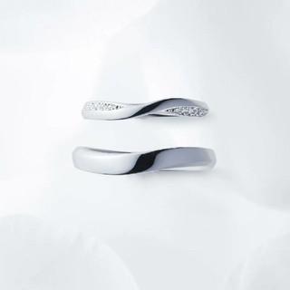 ニワカ(俄)の俄 NIWAKA 茜雲 プラチナリング 結婚指輪 マリッジリング pt950(リング(指輪))