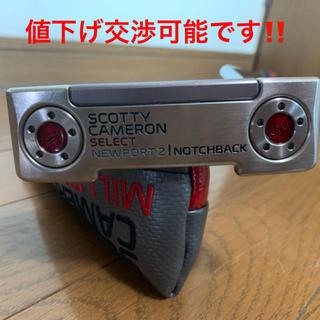 Scotty Cameron - スコッティキャメロン インポート2  ノッチバック 純正ヘッドカバー付き