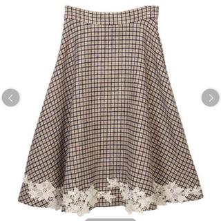 31 Sons de mode - トランテアンソンドゥモード 裾レースフレアスカート