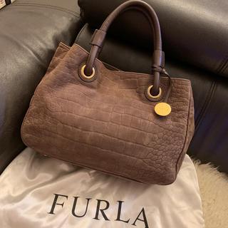 フルラ(Furla)のフルラ   レザー 型押し ハンドバッグ(ハンドバッグ)