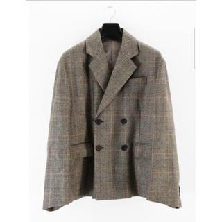 サンシー(SUNSEA)のstein oversized double breasted jacket(テーラードジャケット)