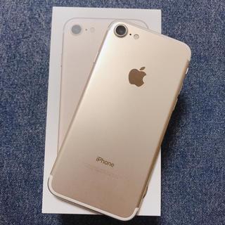 iPhone - apple iPhone7 本体  ゴールド
