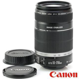 Canon - ❤手振補正付き❤️望遠レンズ❤️Canon EF 55-250mm IS ★