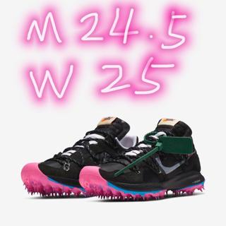 NIKE - Nike x Off-White Zoom Terra Kiger 5黒