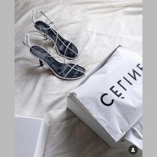 celine - セリーヌ☆ヌードストラップサンダル