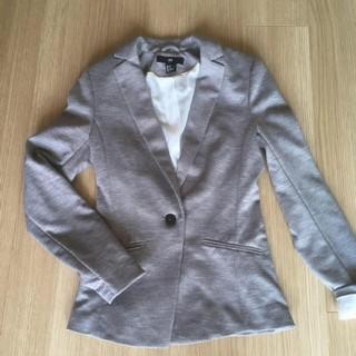 エイチアンドエム(H&M)のほぼ新品 H&Mジャケット テーラード グレー ZARA(テーラードジャケット)