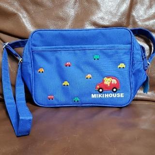 mikihouse - ミキハウス 車柄斜めがけバッグ
