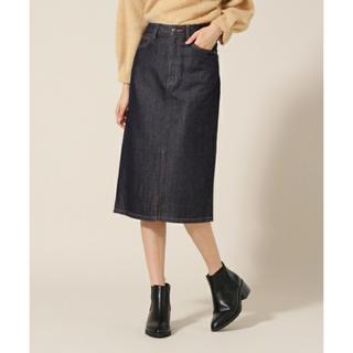 ローリーズファーム(LOWRYS FARM)のデニムスカート(ひざ丈スカート)