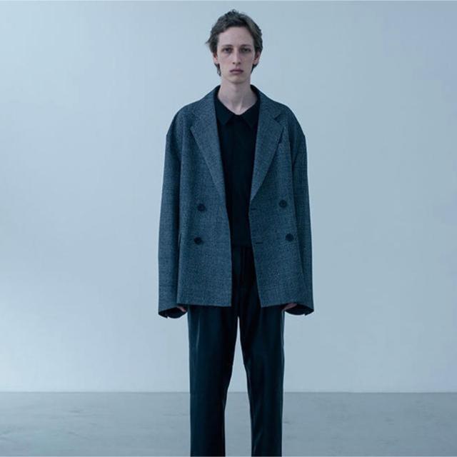 COMOLI(コモリ)のstein ORVERSIZED DOUBLE BREASTED JACKET メンズのジャケット/アウター(テーラードジャケット)の商品写真