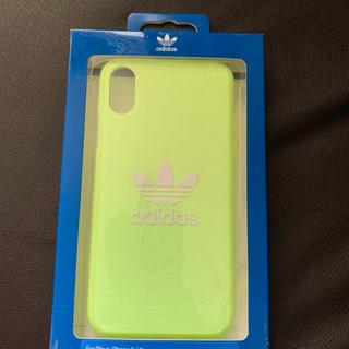 アディダス(adidas)のadidas アディダス iPhoneケース 黄色(iPhoneケース)