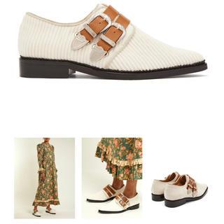トーガ(TOGA)の【新品未使用】早い者勝ち‼️TOGA PULLA White Loafer(ローファー/革靴)
