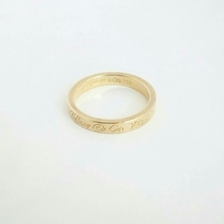 ティファニー(Tiffany & Co.)の青い月様専用  ティファニー k18 11号 750 Tiffany(リング(指輪))