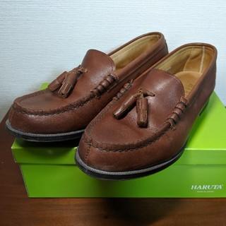 ハルタ(HARUTA)のHARUTA  NA303 ダークブラウン 24.5cm(ローファー/革靴)
