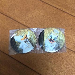 Disney - ワンマンズドリーム  缶バッチ ドナルド デイジー