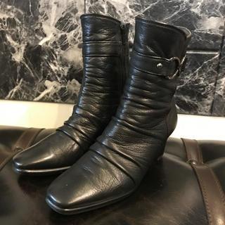 ブランブルー blanc/bleu レディース ブーツ アクアグリップ  婦人靴(ブーツ)