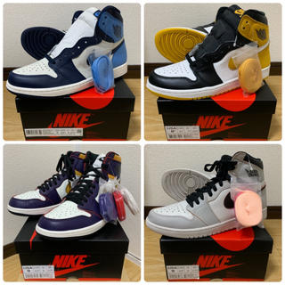 NIKE - 4足売 la chicago nyc paris obsidian yellow