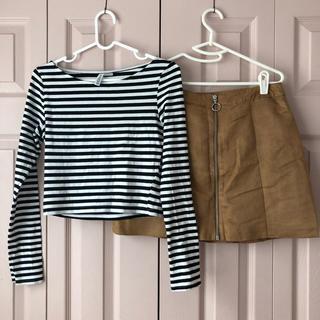 エイチアンドエム(H&M)のH&M セット(Tシャツ(長袖/七分))