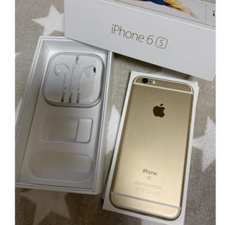 Softbank - iPhone6s  gold64GB