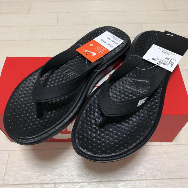 NIKE(ナイキ)のNIKE SOLAY THONG 27cm メンズの靴/シューズ(サンダル)の商品写真
