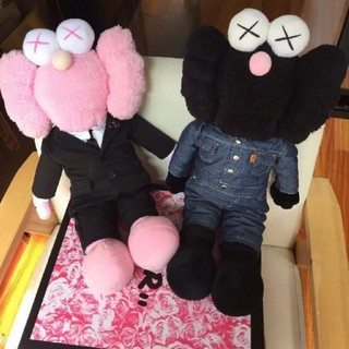 ディオール(Dior)のKAWS Dior BFF ピンク ブラック 2体セット(ぬいぐるみ)