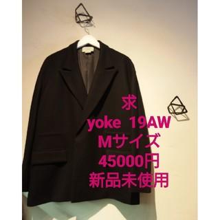 サンシー(SUNSEA)の求  YOKE LOOSE DOUBLE JACKET 19AW yoke(テーラードジャケット)