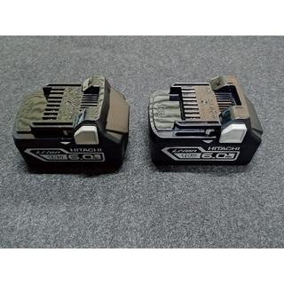 新品未使用 日立  HITACHI 純正バッテリー 18v 6.0Ah×2個(工具/メンテナンス)