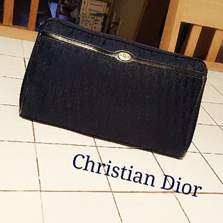 Christian Dior - Christian Dior クラッチバッグ ポーチ ヴィンテージ old