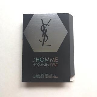 Yves Saint Laurent Beaute - 【新品】YSL イヴ サンローラン ロム 香水 L'homme サンプル 試供品