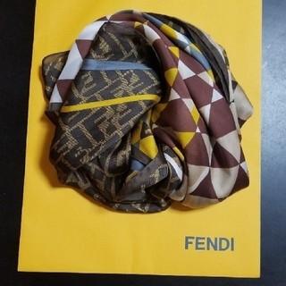 フェンディ(FENDI)のFENDI シルクストール(ストール/パシュミナ)