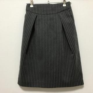 ローリーズファーム(LOWRYS FARM)のストライプスカート(ひざ丈スカート)