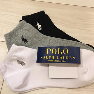 Ralph Lauren - 3足❤️新品*ラルフ  靴下 セット 23 24 25