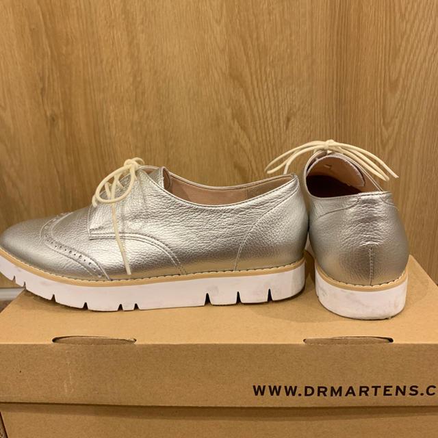 DIANA(ダイアナ)のDiana レースアップシューズ シルバー レディースの靴/シューズ(ローファー/革靴)の商品写真