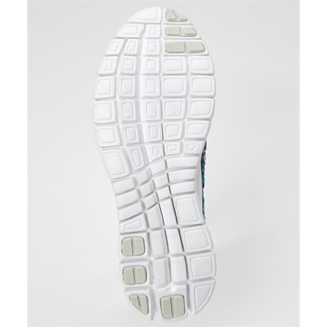 25.0〜25.5 4E 超軽量 ゴムゴムメッシュ編クロスストラップ スニーカー レディースの靴/シューズ(スニーカー)の商品写真