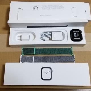 アップルウォッチ(Apple Watch)のapple watch series4 セルラー 44mm(スマートフォン本体)