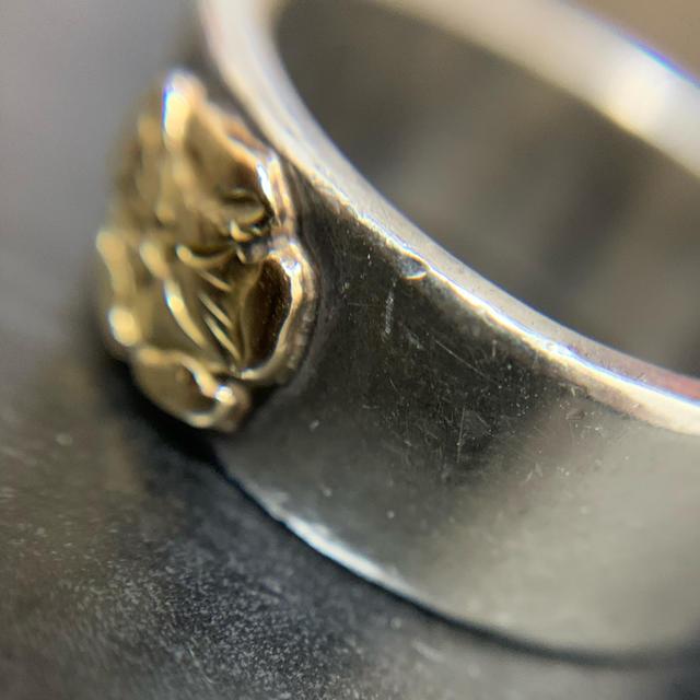 goro's(ゴローズ)のゴローズ  平打ちローズリング メンズのアクセサリー(リング(指輪))の商品写真