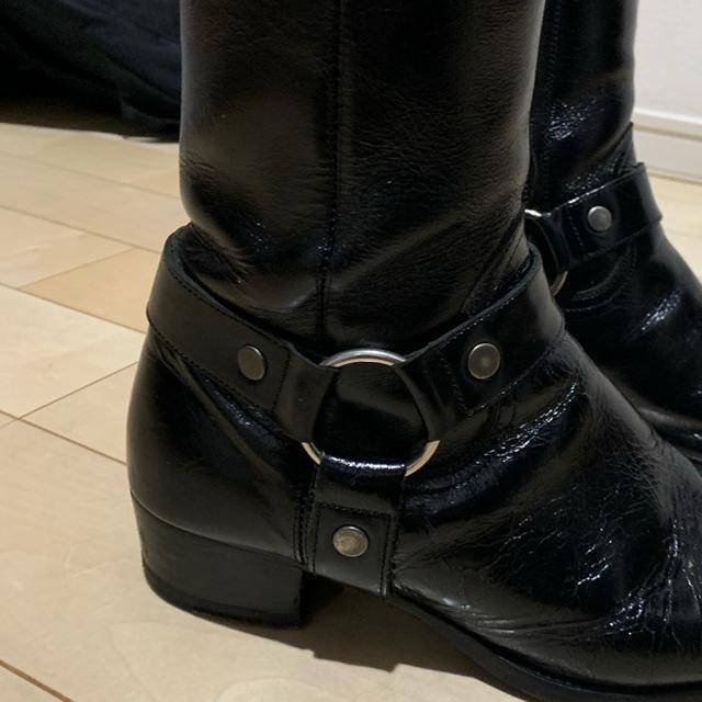 Saint Laurent(サンローラン)のsaint Laurent リングブーツ メンズの靴/シューズ(ブーツ)の商品写真