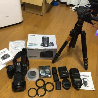 Canon レンズキット EOS 70D 付属品色々
