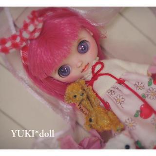 ❁.。.:*YUKI*doll ❁.。.:*カスタムプチブライス  ブライス