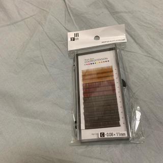 まつ毛エクステ 商材 3D C11mm ミックスカラー(つけまつげ)