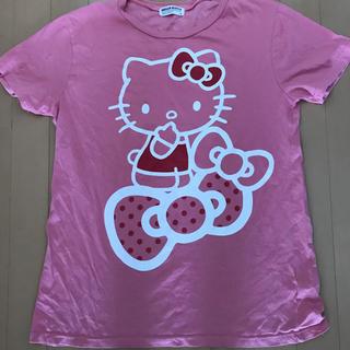ハローキティ(ハローキティ)のキティちゃんTシャツ(Tシャツ(半袖/袖なし))