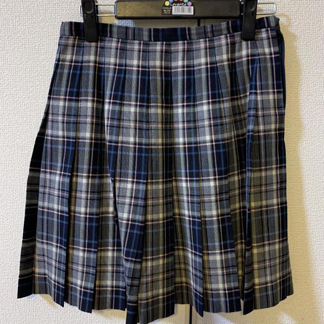 EASTBOY(イーストボーイ)のEASTBOY チェック スカート 9号 レディースのスカート(ひざ丈スカート)の商品写真