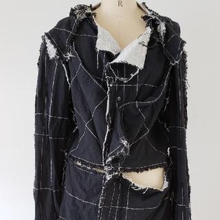 アリスアウアア(alice auaa)の 超激レア商品 アリスアウアア デザインブラウスジャケット(ノーカラージャケット)