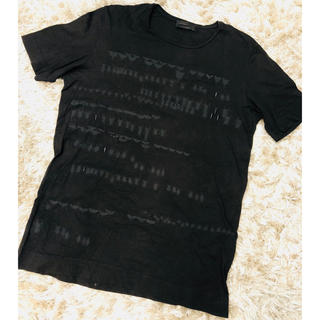 ディーゼル(DIESEL)のディーゼルブラック ゴールド  昆虫柄 カットソー(Tシャツ/カットソー(半袖/袖なし))